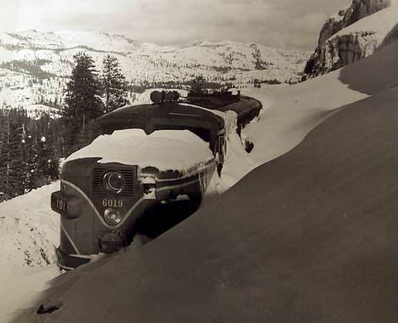 Snowbound, west of Donner Summit, 1952