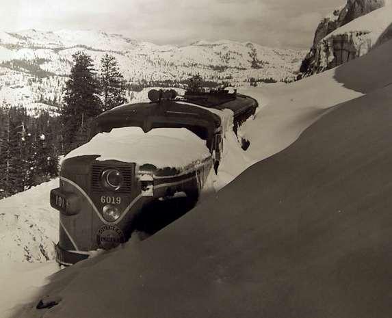 Snowbound, west of Donner Summit, 1952