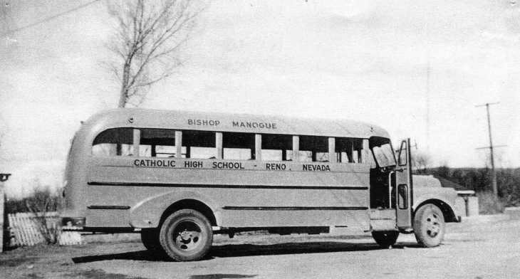 Bishop Manogue Bus