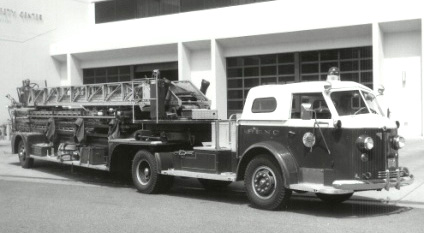 1947 Fire ladder