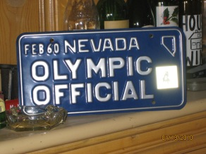 Olympic plate