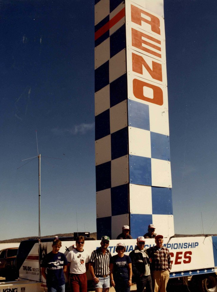Air Race Home Pylon Crew