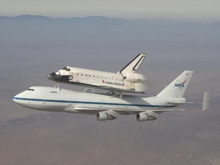 747 shuutle